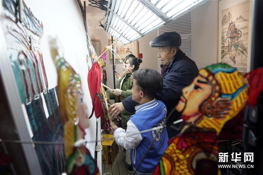 杨家将专题非物质文化遗产精品展在京开幕