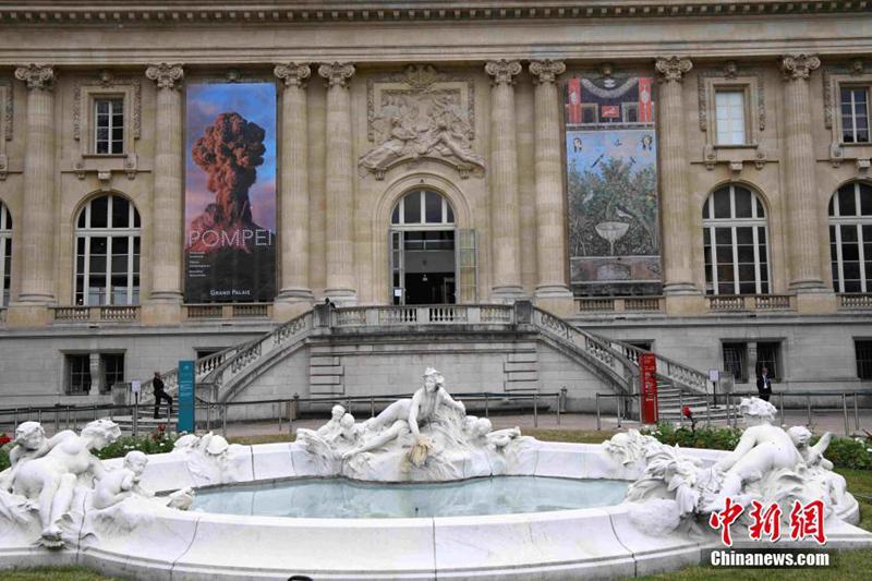 巴黎大皇宫恢复开放 迎来历史文化体验展《庞贝》