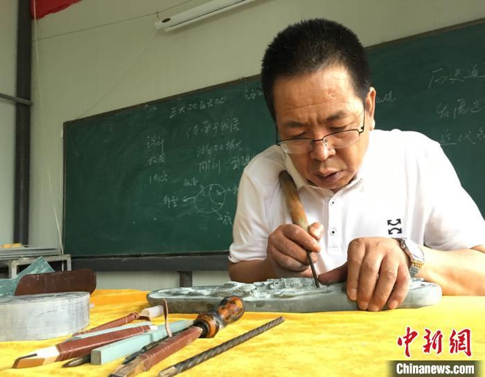 """探访""""中国洮砚之乡"""":极品石温润滑腻如婴儿肌肤"""