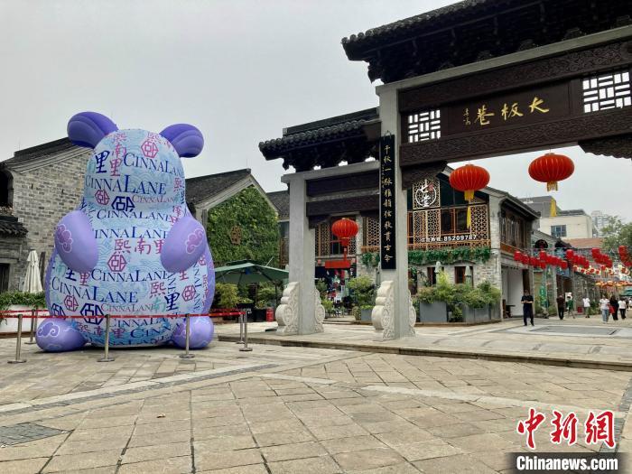 南京千年古巷熙南里将重现《南都繁会图》