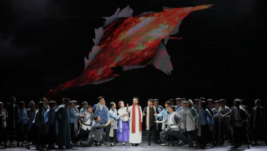 北京京剧院《李大钊》亮相上海