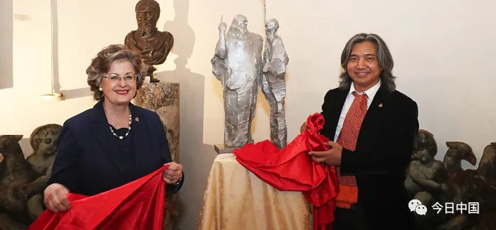 吴为山:为时代造像者  用雕塑讲述中国故事