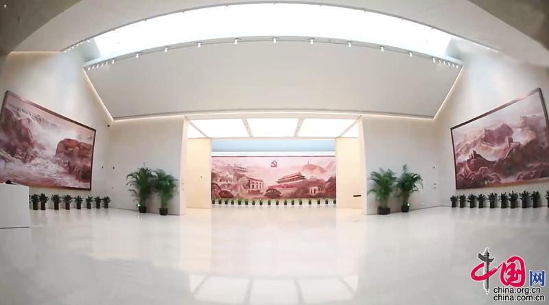中共一大纪念馆前厅壁画创作纪实(图2)